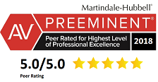 AV                   Rating 5 out of 5 from Martindale Hubbell